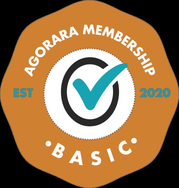 Agorara Membership Badge BASIC