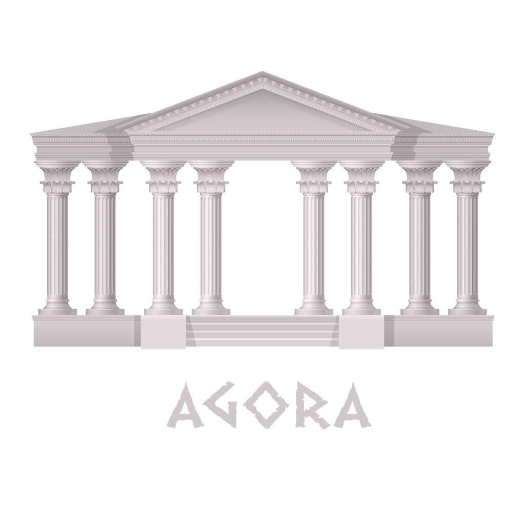 Ancient Agora - Acropolis - agorara.com