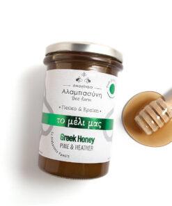 Alabasinis honey from pine & heather 250g & 400g