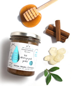 Alabasinis honey with mastic & cinnamon 250g