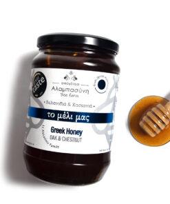 Alabasinis honey from oak & chestnut 950g